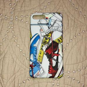 OFF-White x Air Jordan iPhone 7/8 Plus Case